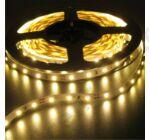 LED szalag, 3528, 60 SMD/m, meleg fehér, vízálló