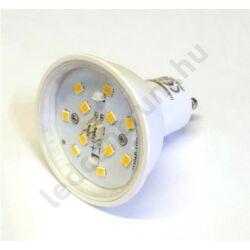 LED spot GU10 6W, 550lm, meleg fehér, dimmelhető, 3 év garancia