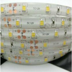 LED szalag, 2835, 60 COB SMD/m, meleg fehér, vízálló