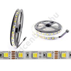 LED szalag szett két színhőmérsékletű 5025-60 hideg fehér+meleg fehér, vízálló