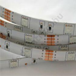 LED szalag, 5050, 30 SMD/m, RGB, vízálló