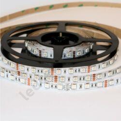 LED szalag, 5050, 60 SMD/m, RGB, beltéri