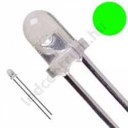 5mm 30° DIP LED - Zöld