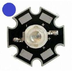 3W Power LED  - Kék