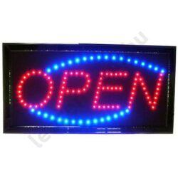 LED tábla: OPEN