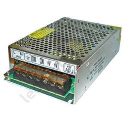 LED tápegység, 12A, 240W, DC 12V, fém házas