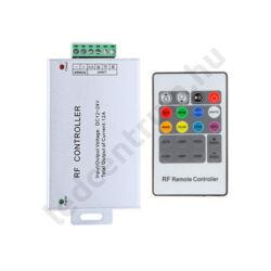 RGB vezérlő, rádiófrekvenciás, 20 gombos, max.144W