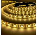 LED szalag, 5050, 60 SMD/m, meleg fehér, vízálló