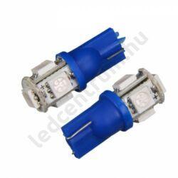 T10 5 smd 5050 - Kék