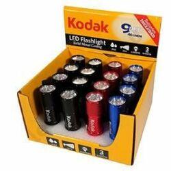 Kodak Elemlámpa 9 x LED
