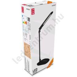 LED asztali lámpa, érintésvezérelt dimmer, 10W, fekete