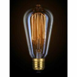 Decor Edison ST64, 360°, E27, 40W, 200lm, meleg fehér