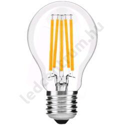 LED égő E27, 15W, Filament Globe, High Lumen, 2000lm, meleg fehér, 3 év garancia