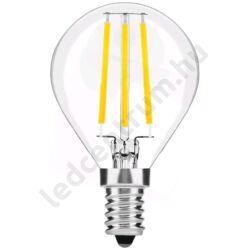 LED égő, Filament Mini Globe, High Lumen, E14, 7W, 810lm, természetes fehér, 3 év garancia