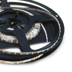 LED szalag, 3014, 120 COB SMD/m, meleg fehér, beltéri, 4mm - a legkeskenyebb!