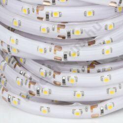 LED szalag, 3528, 60 SMD/m, hideg fehér, vízálló