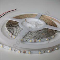LED szalag, 3528, 60 SMD/m, meleg fehér, beltéri