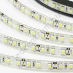 LED szalag, 3528, 120 SMD/m, meleg fehér, vízálló