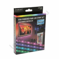 LED szalag szett - TV háttérvilágítás RGB színváltós távirányítóval