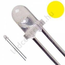 5mm 30° DIP LED - Sárga