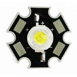 1W Power LED  - Meleg fehér