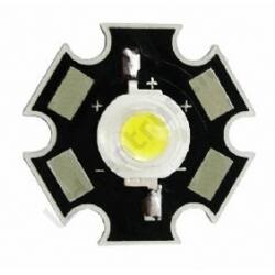 3W Power LED  - Hideg fehér