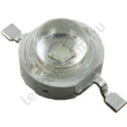 3W Power LED emitter - Piros