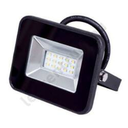 LED reflektor SMD 20W, kültéri, fekete ház, meleg fehér