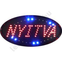 LED tábla: NYITVA