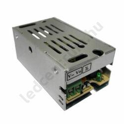 LED tápegység, 1,25A, 15W, DC 12V, fém házas