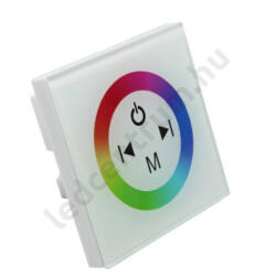 RGB fali vezérlő érintős max.144W