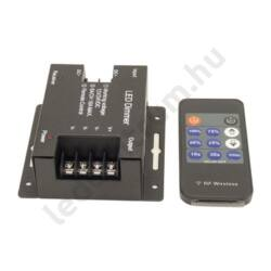 LED távirányítós dimmer, fényerőszabályzó 11 gombos, max. 216W