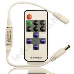 LED távirányítós dimmer, fényerőszabályzó 11 gombos, max. 144W