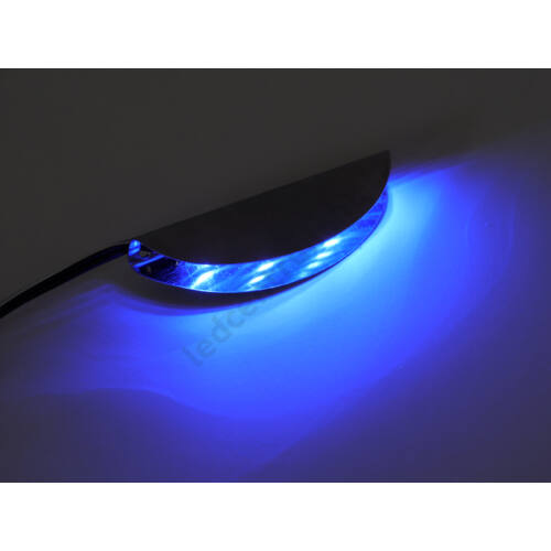 LED üvegpolc élvilágító 1db/cs (középen világít), kék