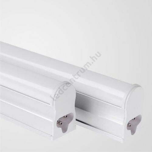 T5 LED fénycső armatúrával, 87cm, hideg fehér