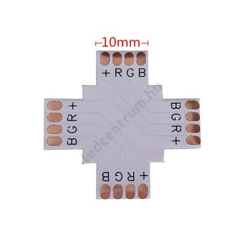 LED szalag X elosztó RGB 10 mm