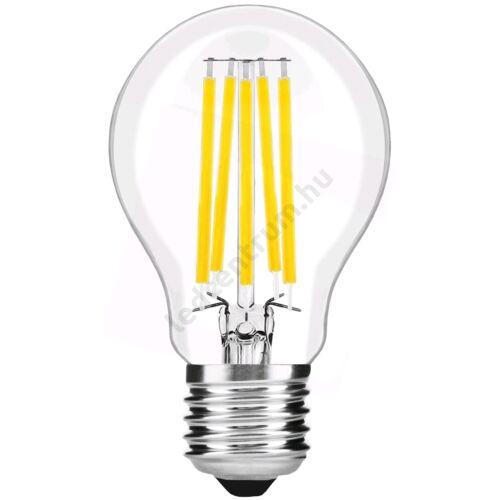 LED égő E27, 15W, Filament Globe, High Lumen, 2010lm, természetes fehér, 3 év garancia