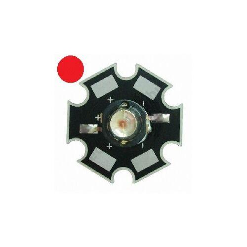 1W Power LED  - Piros