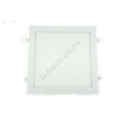 LED panel beépíthető, négyzet, 25W, természetes fehér