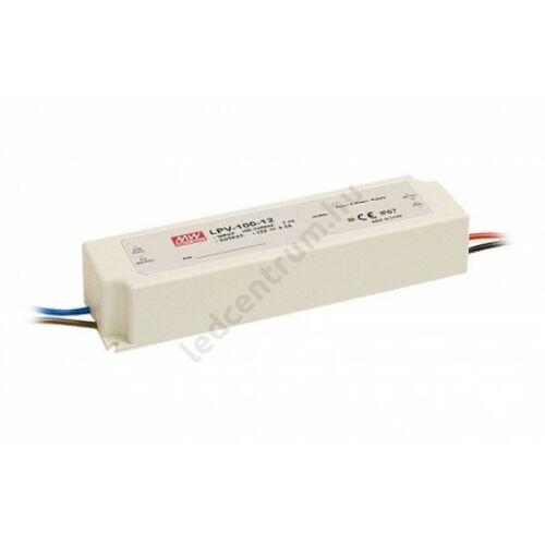 Mean Well LED tápegység, 8,5A, 100W, DC 12V