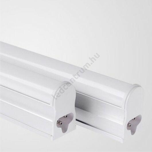 T5 LED fénycső armatúrával, 87cm, meleg fehér