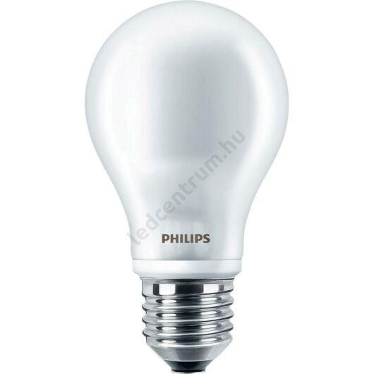 Philips LED égő E27, 7W, 806lm, 300°, meleg fehér, 3 év garancia